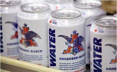 Anheuser-Busch and Southern Beverage Company, Inc. Providing Emergency Drinking Water American Red Cross Relief